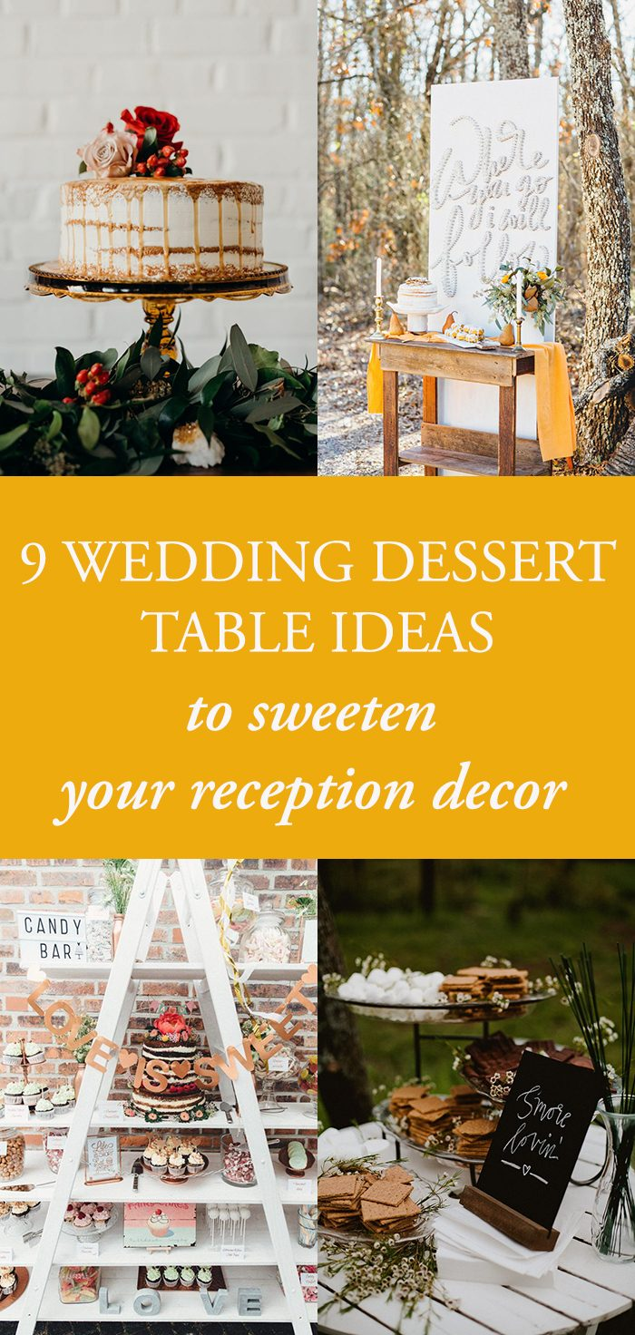 Terrific 9 Wedding Dessert Table Ideas To Sweeten Your Reception Interior Design Ideas Tzicisoteloinfo