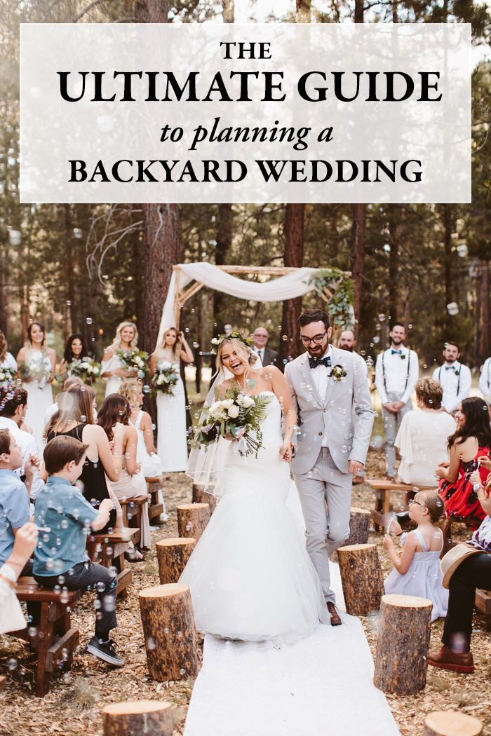 The Ultimate Guide to Planning a Backyard Wedding | Junebug Weddings