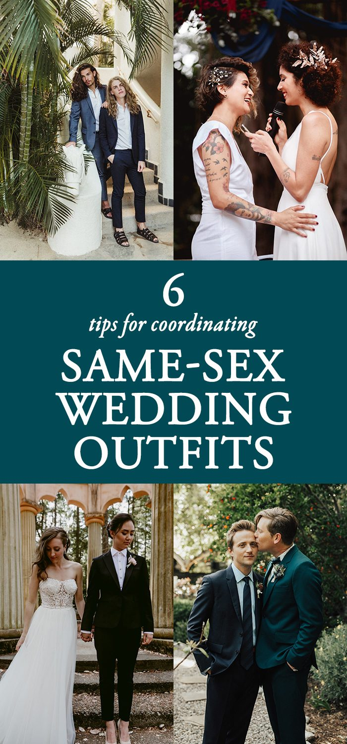 Tips for same sex wedding