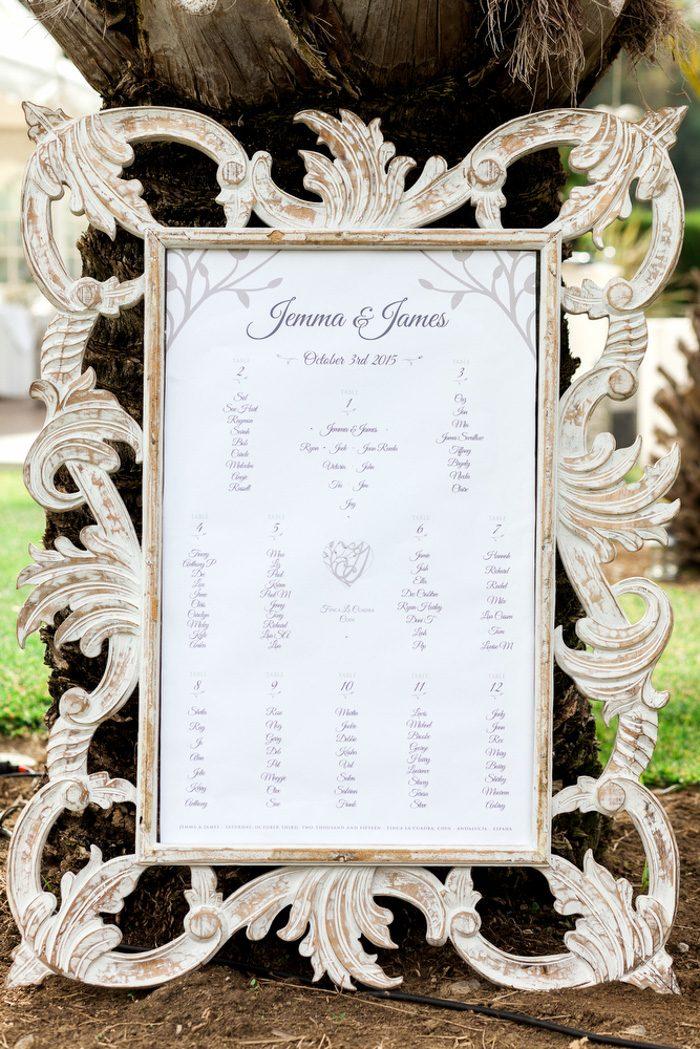 60 Wedding Seating Chart Ideas | Junebug Weddings