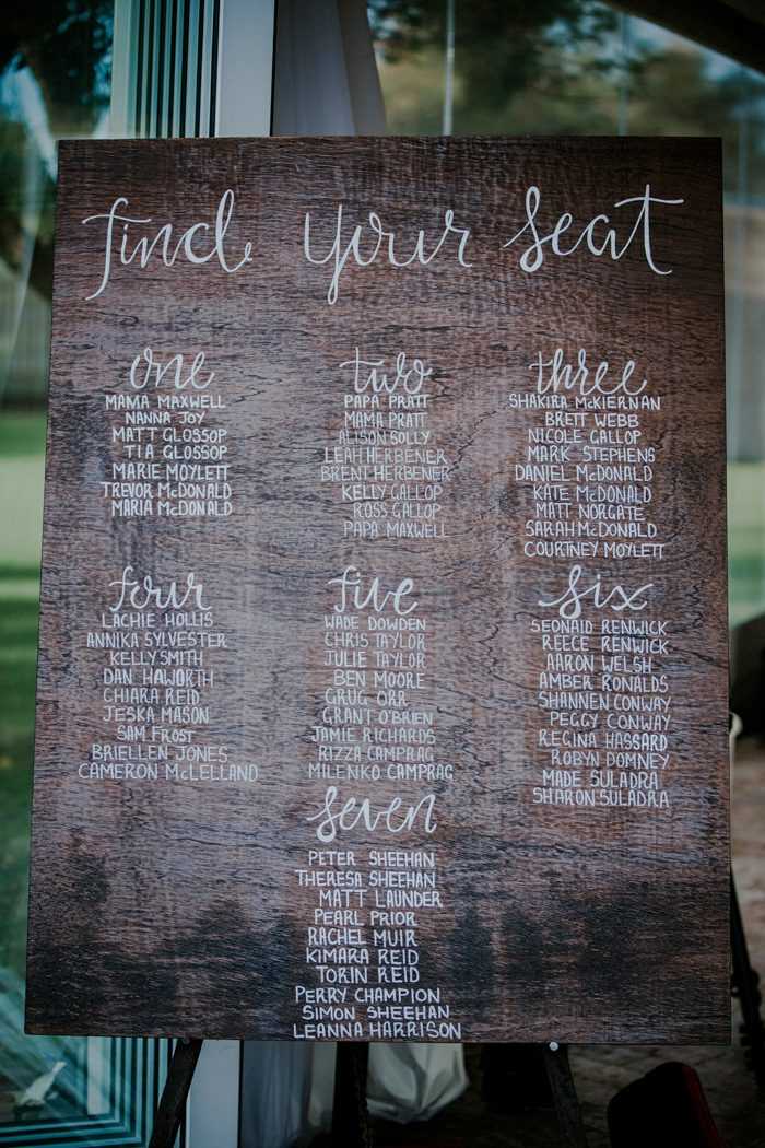 20 Wedding Seating Boards Chart Ideas