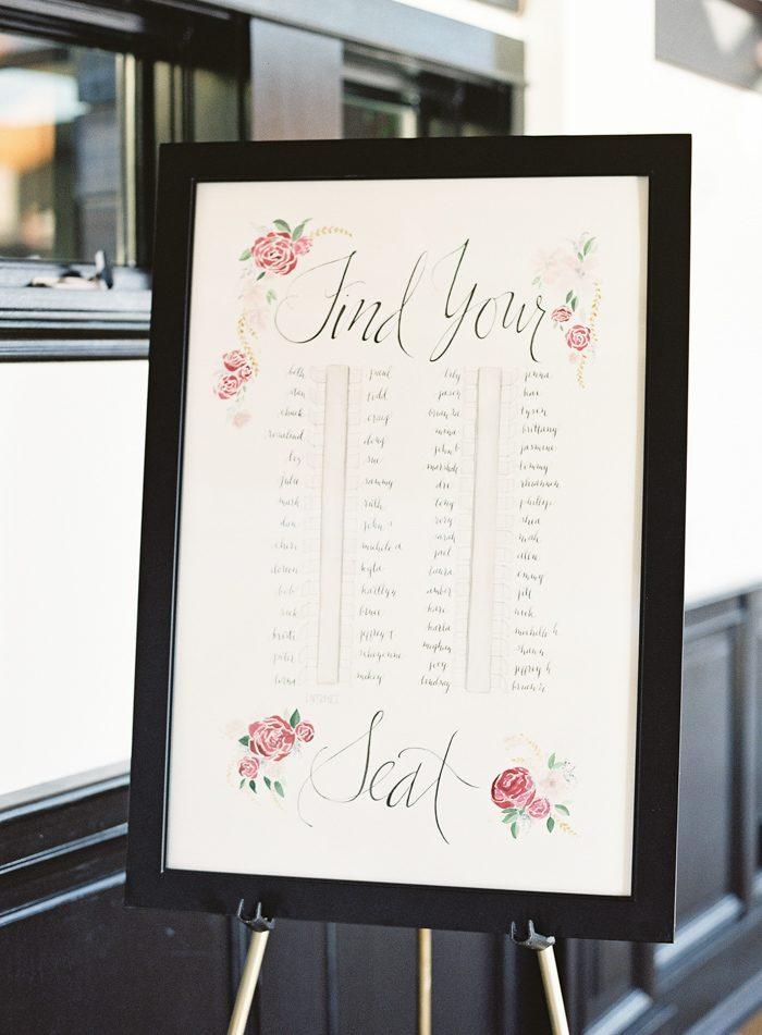 Wedding Table Seating Chart.60 Wedding Seating Chart Ideas Junebug Weddings