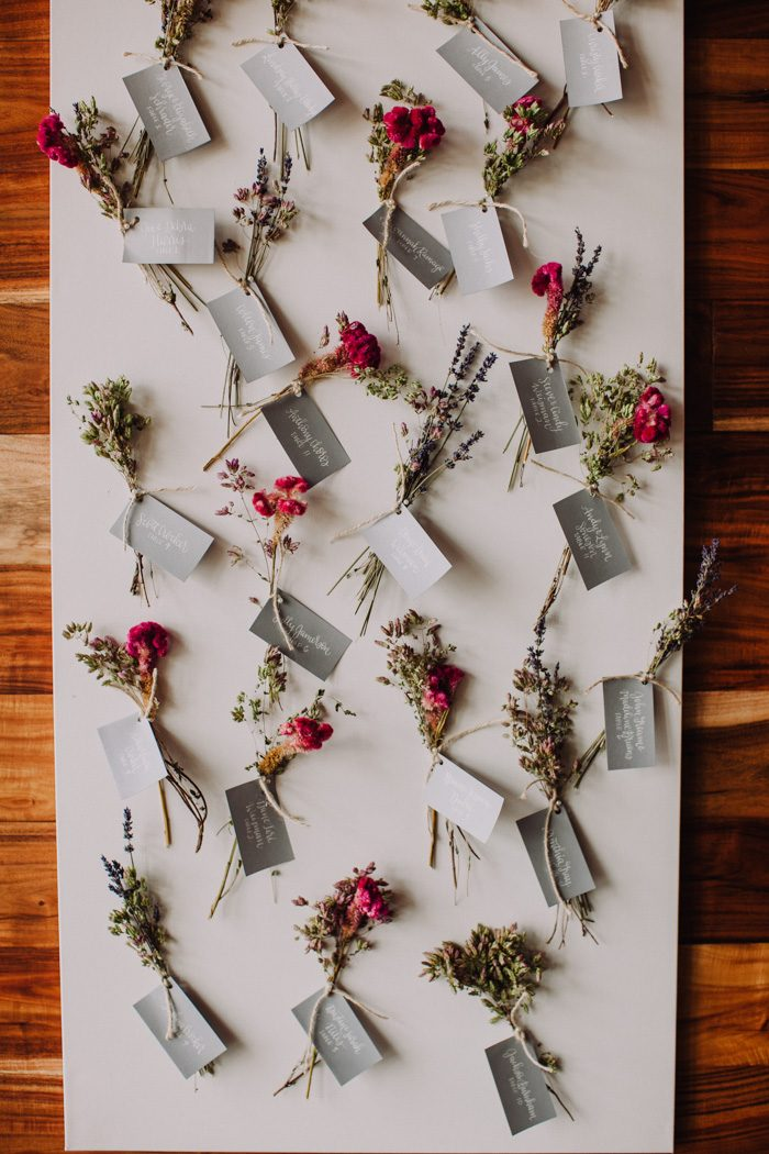 15 Wedding Seating CLIPS and CLOTHESPINS Chart Ideas