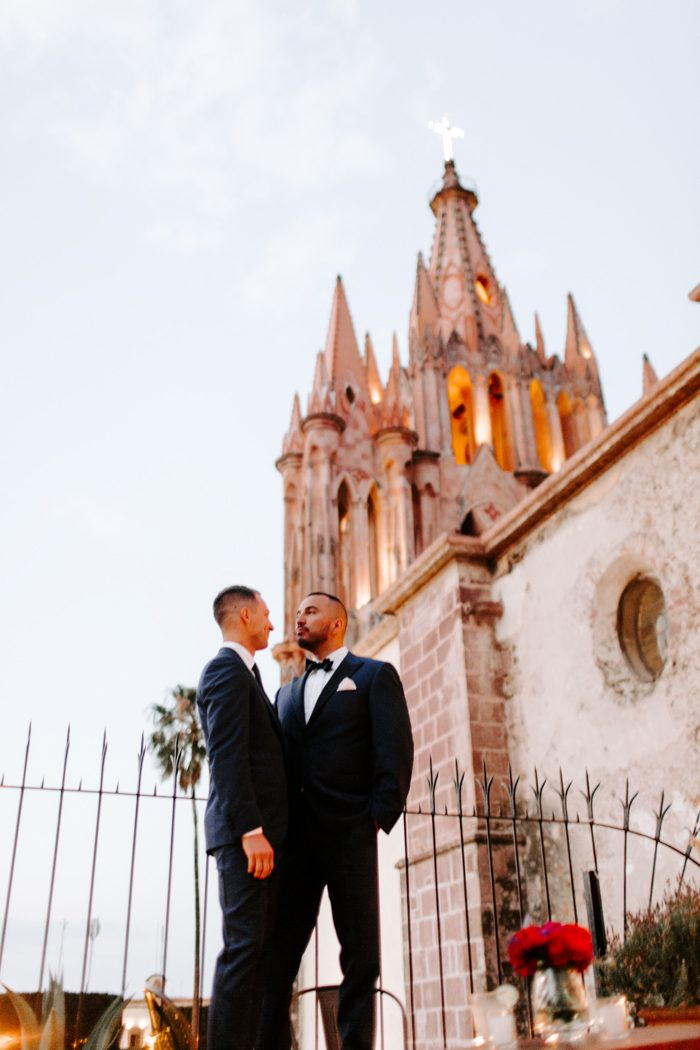 These Grooms Were Charmed By Terraza Trinitate For Their San