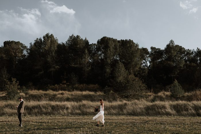 This Free Spirited Wedding Inspiration In Barcelona Has