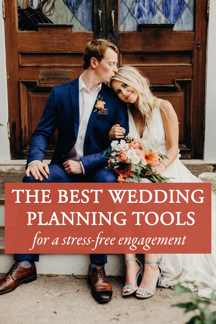 the best wedding planning tools for a stress free engagement