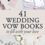 41 Wedding Vow Books to Fill With Your Love