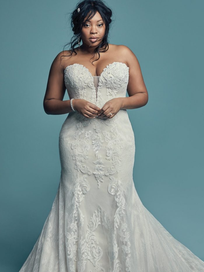 2527e72a0dc 70 Stunning Plus Size Wedding Dresses for 2018-2019 Brides