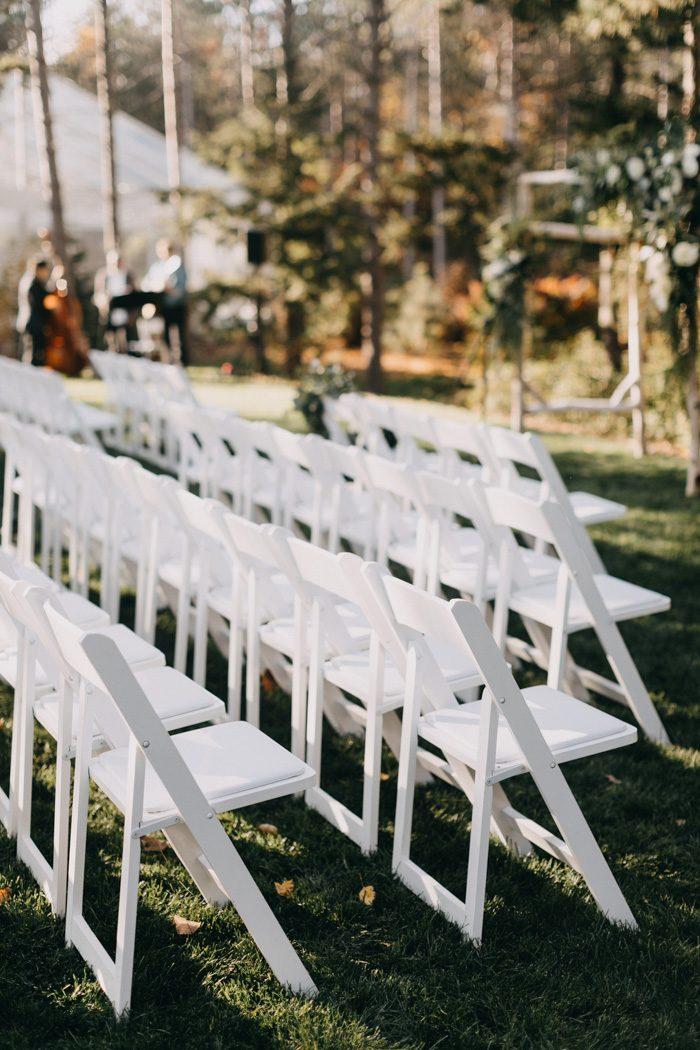 Earthy Elegant Hidden Pond Wedding in Maine   Junebug Weddings