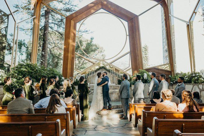 Wayfarers Chapel Wedding.Intimate Wayfarer S Chapel Wedding Proves Eloping Can Be Totally