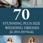70 Stunning Plus Size Wedding Dresses for 2018-2019 Brides
