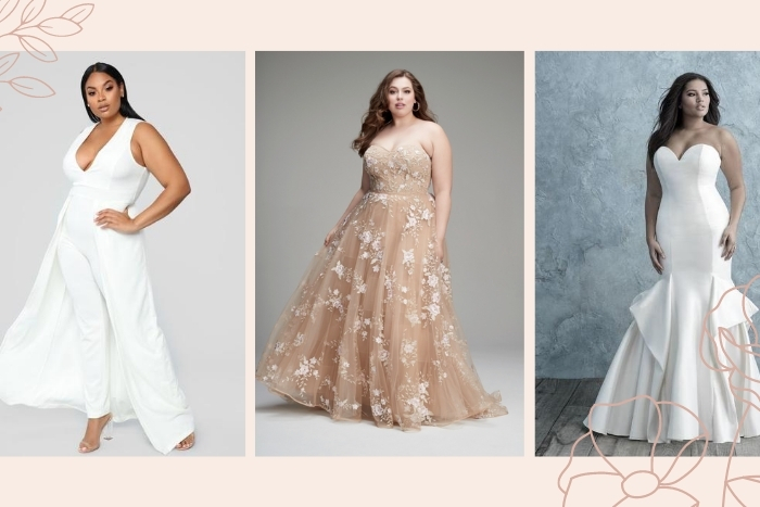 Stunning Plus Size Wedding Dresses  Junebug Weddings