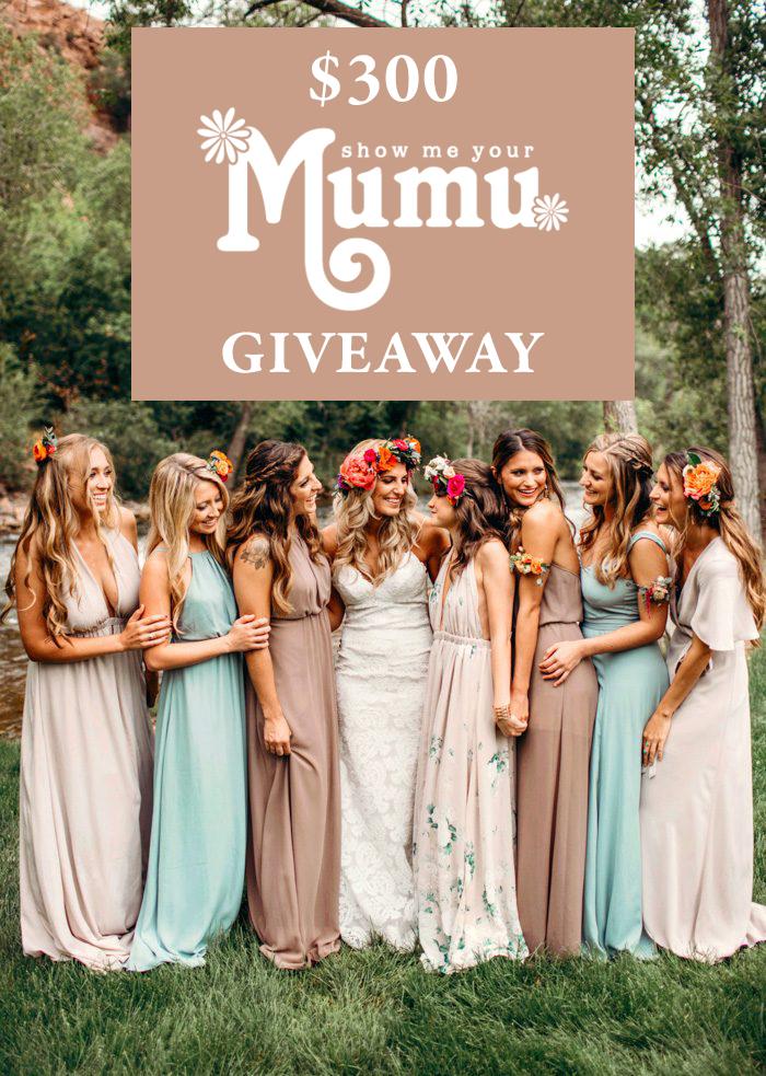 92aafdbecca $300 Show Me Your Mumu Giveaway | Junebug Weddings