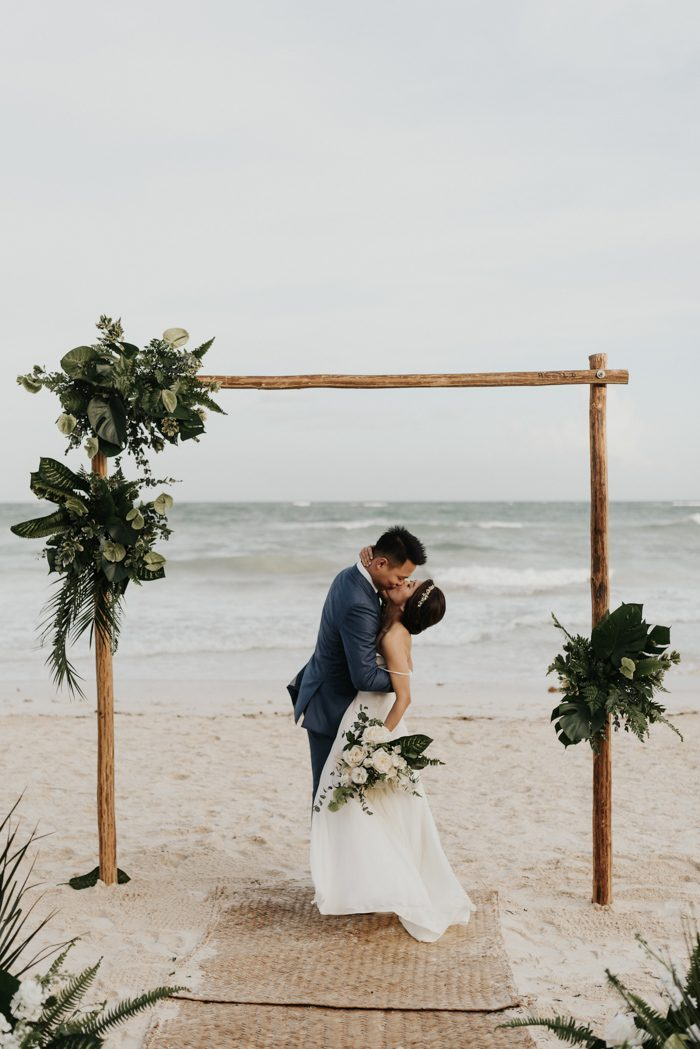 Ideas for RAW WOOD Wedding Ceremony Arches