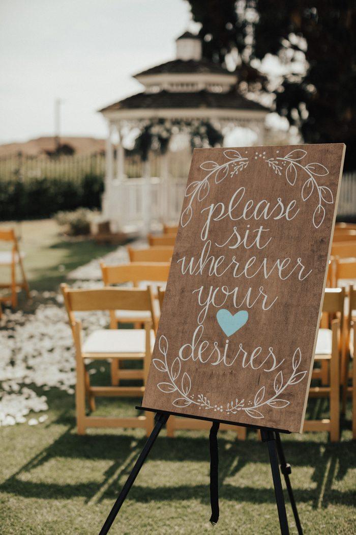 This Newland Barn Wedding In Huntington Beach Was Bohemian In Blue