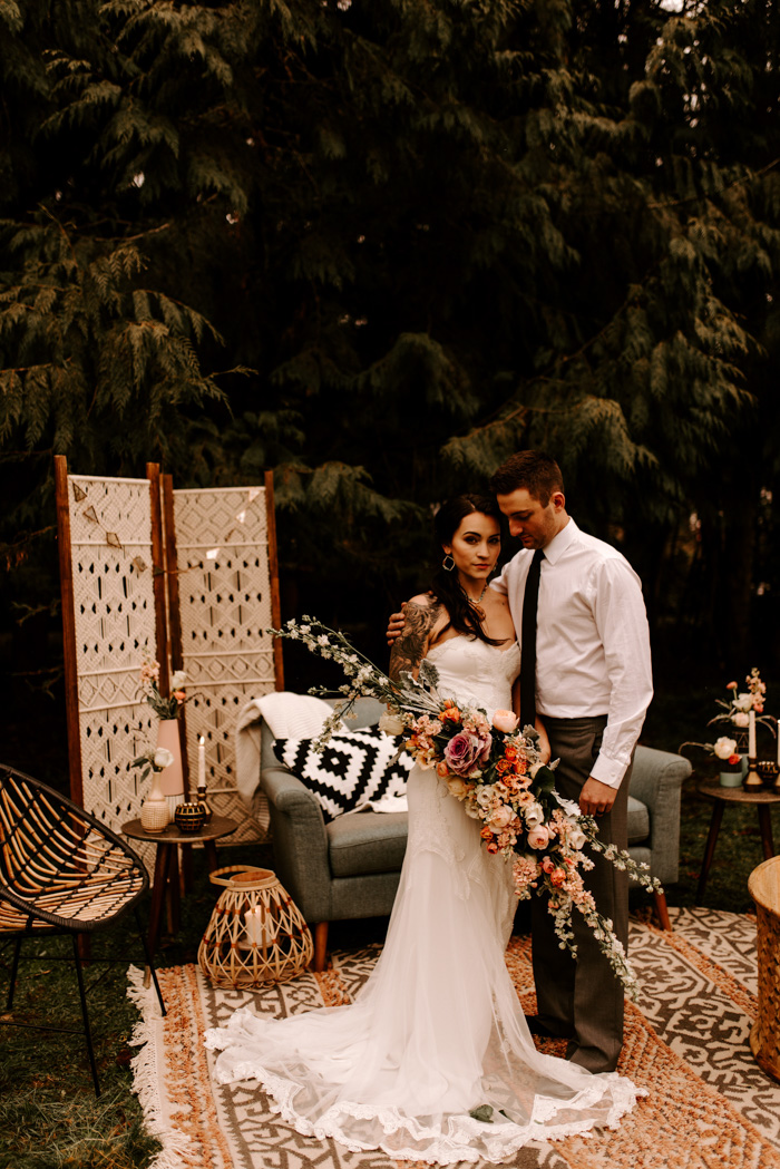 Wedding Photography Styles Explained: This Oregon Forest Wedding Shoot Will Inspire You To Give