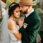 This Virginia Wedding at The Market at Grelen Shows Why Emerald is the Next Big Trend
