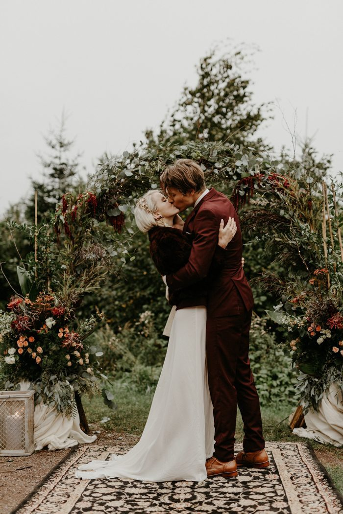 Ideas for WREATHS  Wedding Ceremony Arches
