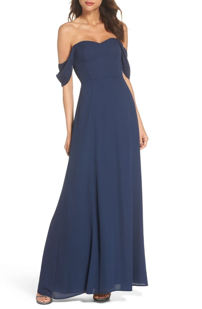 Blue Bridesmaid Dresses In Every Shade Junebug Weddings
