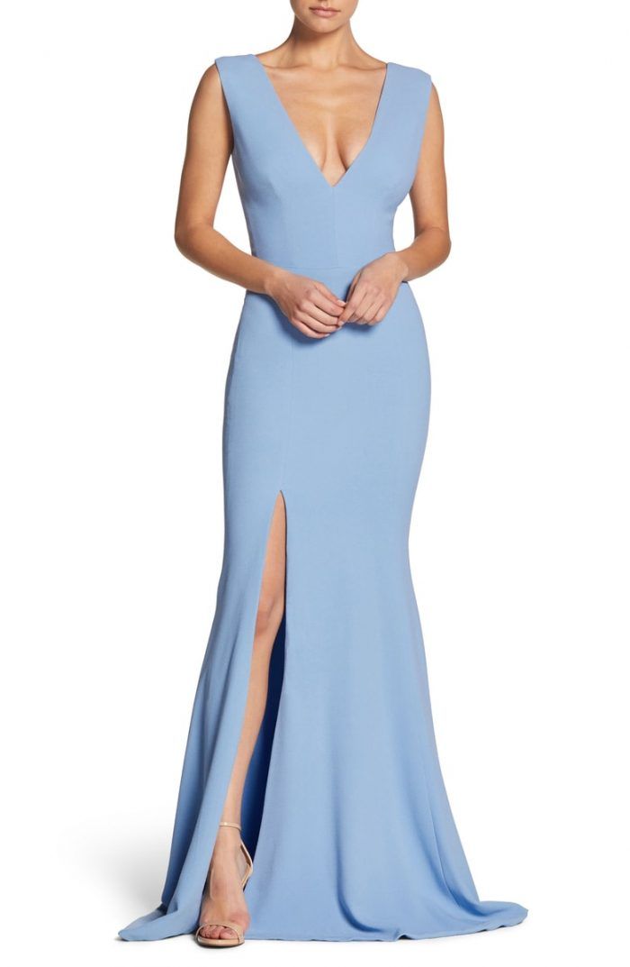 631003f0d89 Blue Bridesmaid Dresses in Every Shade