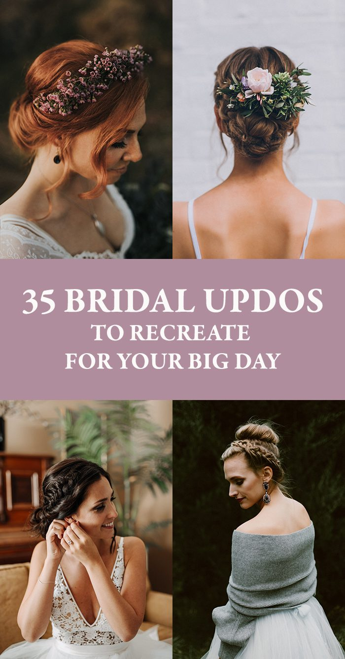 35 Bridal Updos To Recreate For Your Big Day Junebug Weddings