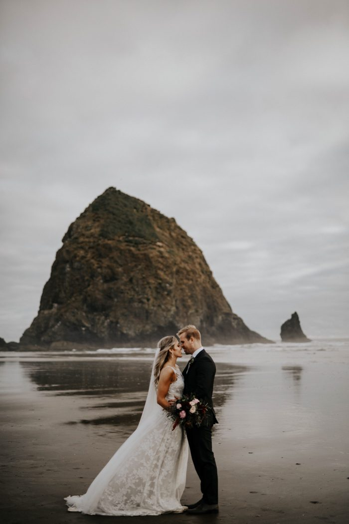 Enchanting Ecola State Park Elopement On The Oregon Coast