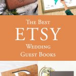 The Best Etsy Wedding Guest Books