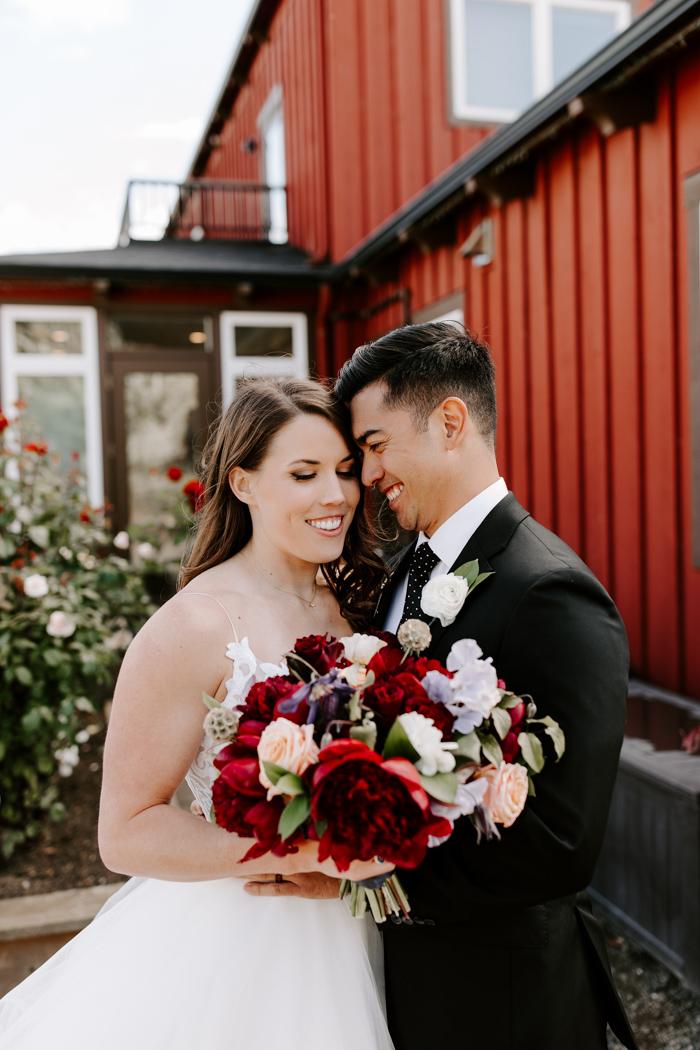 Gorgeous Oregon Farm Wedding With An Edgy Twist