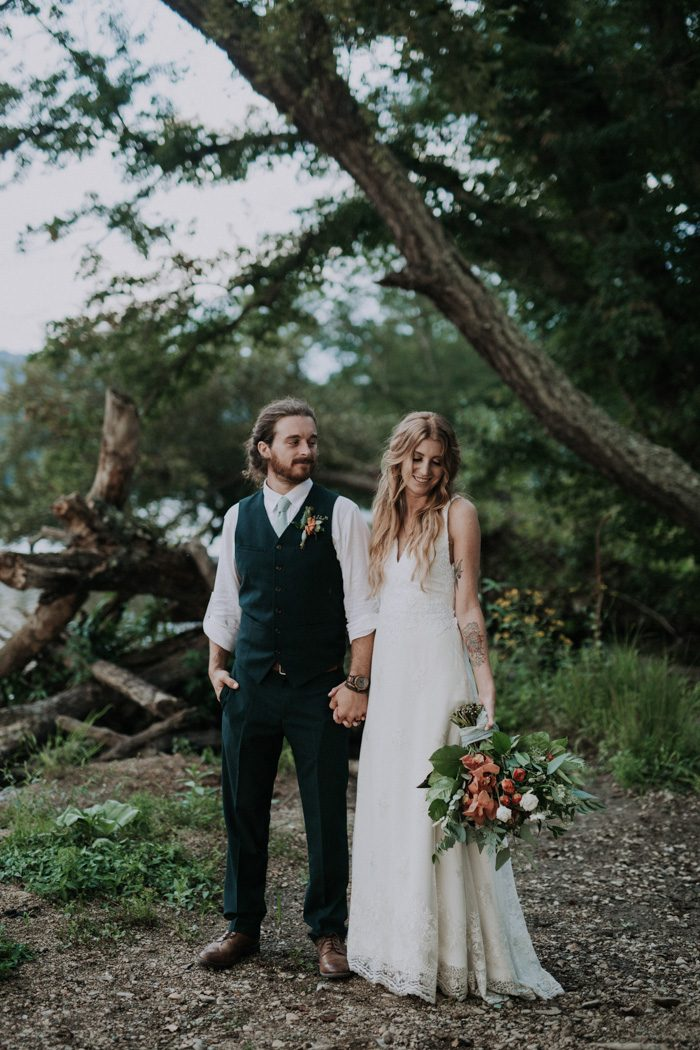 Olivette Was The Perfect Venue For This Diy Woodsy Asheville Wedding