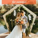 5 Fresh Wedding Colors for Summer
