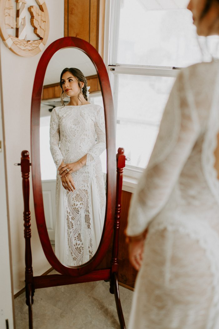 This Saint Augustine Beach Wedding Takes Oceanside Styling To The