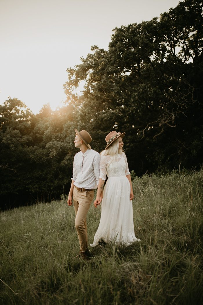 Whimsical wedding wedding blog posts archives junebug weddings with a soft color palette and a whole lot of diy schae and kyes wedding at newton hills state park is fully is whimsical and quirky details junglespirit Choice Image