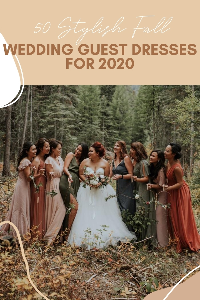 50 Stylish Fall Wedding Guest Dresses For 2020 Junebug Weddings