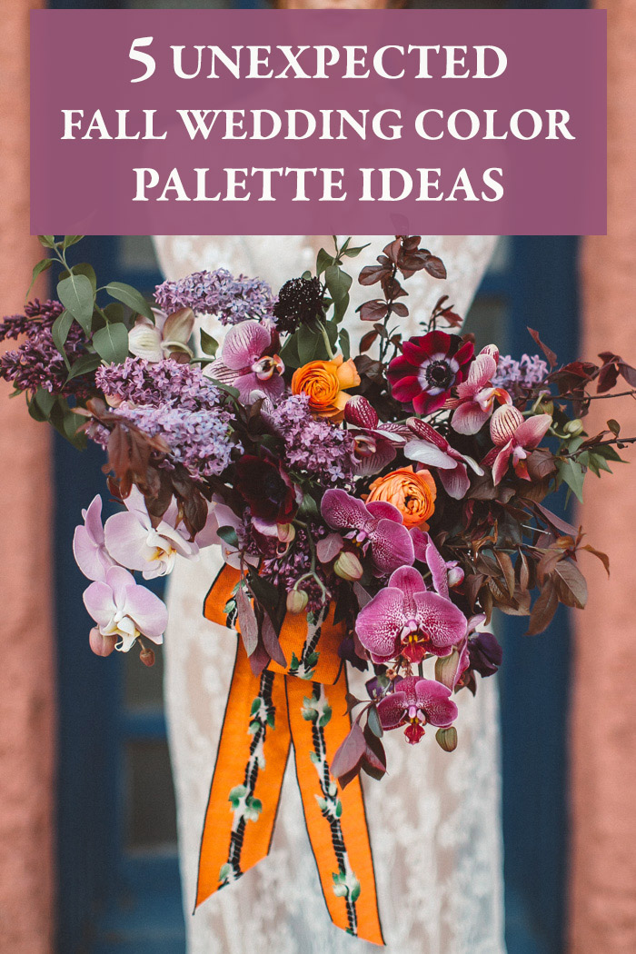 5 Unexpected Fall Wedding Color Palette Ideas Junebug Weddings