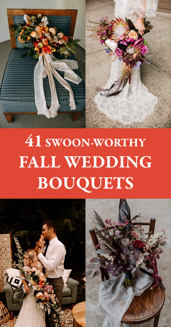 Fall Wedding Bouquets.41 Swoon Worthy Fall Wedding Bouquets Junebug Weddings