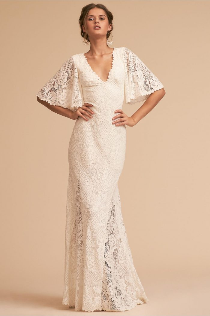 b2572add6227 Looking for more fall wedding dresses  Check out the 11 best Etsy wedding  dress shops for handmade gowns.