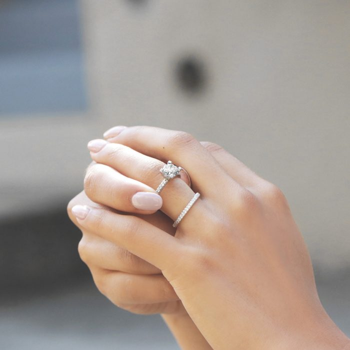 21 Conflict Free Engagement Rings We Re Crushing On From Miadonna Junebug Weddings