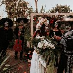 Get Spooky with This Dia De Los Muertos Wedding That Celebrates the Couple's Mexican Heritage