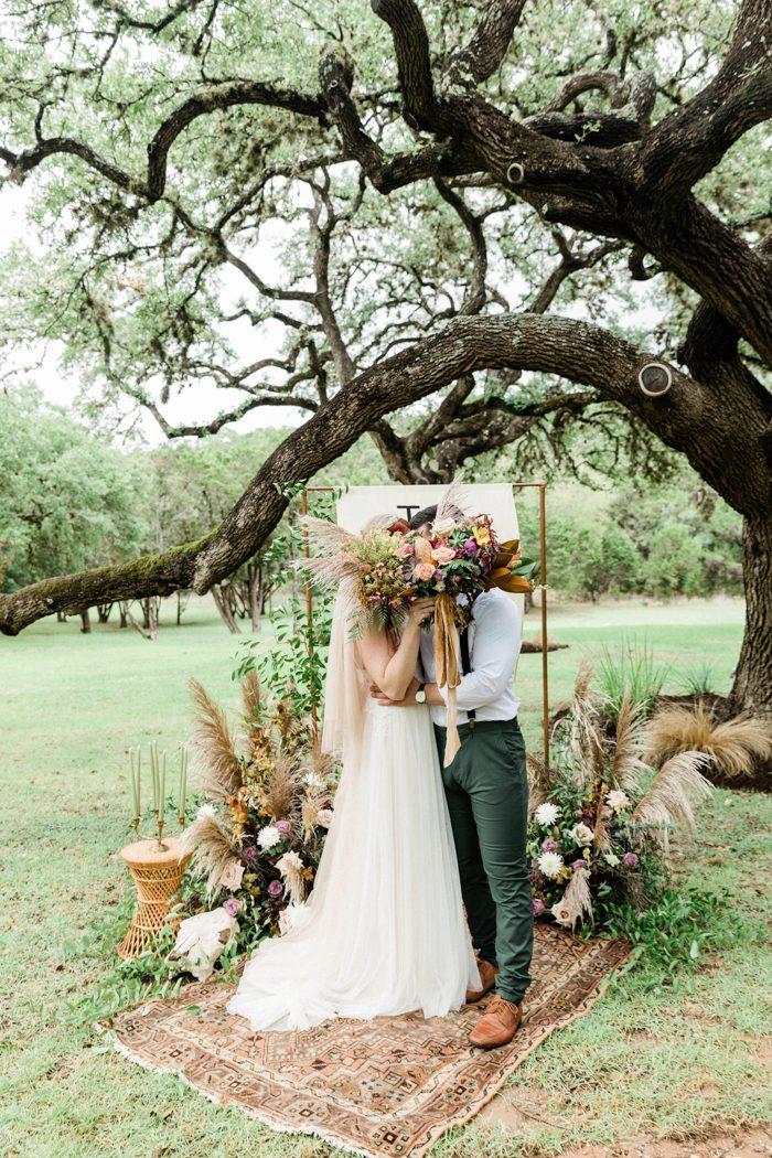 Southwestern Bohemian Wedding Inspiration From The Big