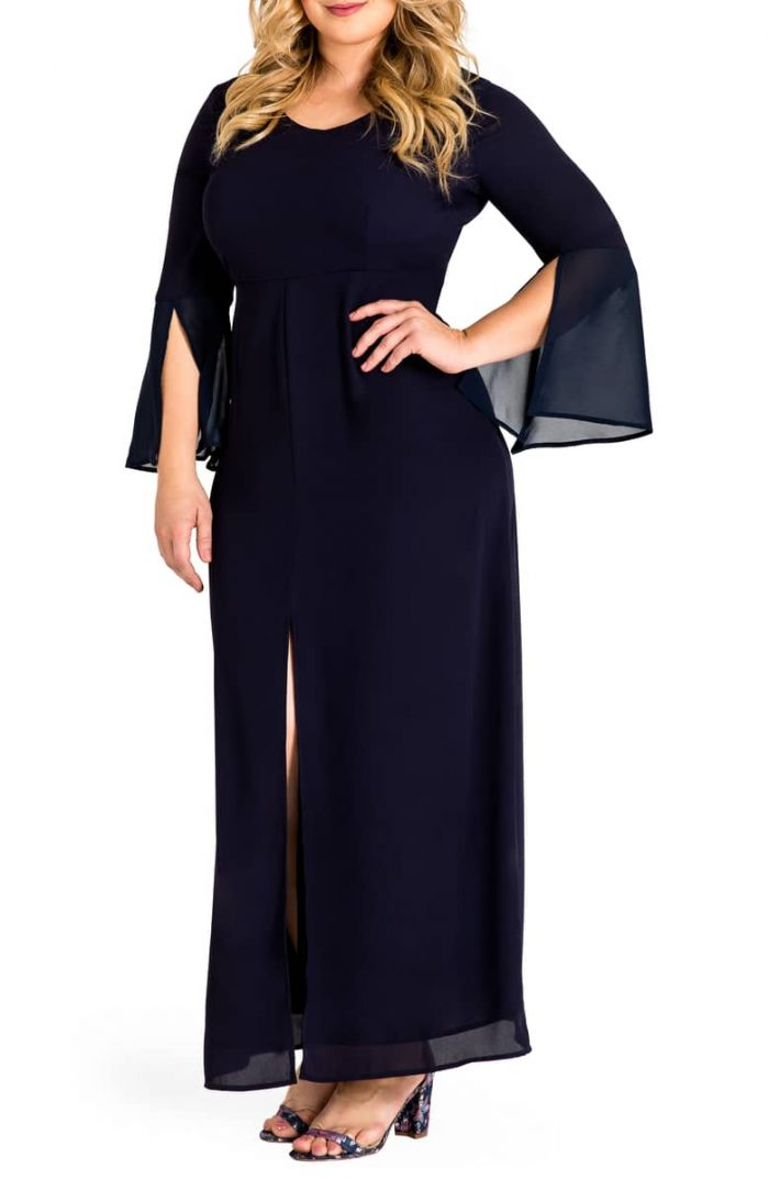 8867e0086be1 34 Long-Sleeve Bridesmaids Dresses Perfect for a Winter Wedding ...