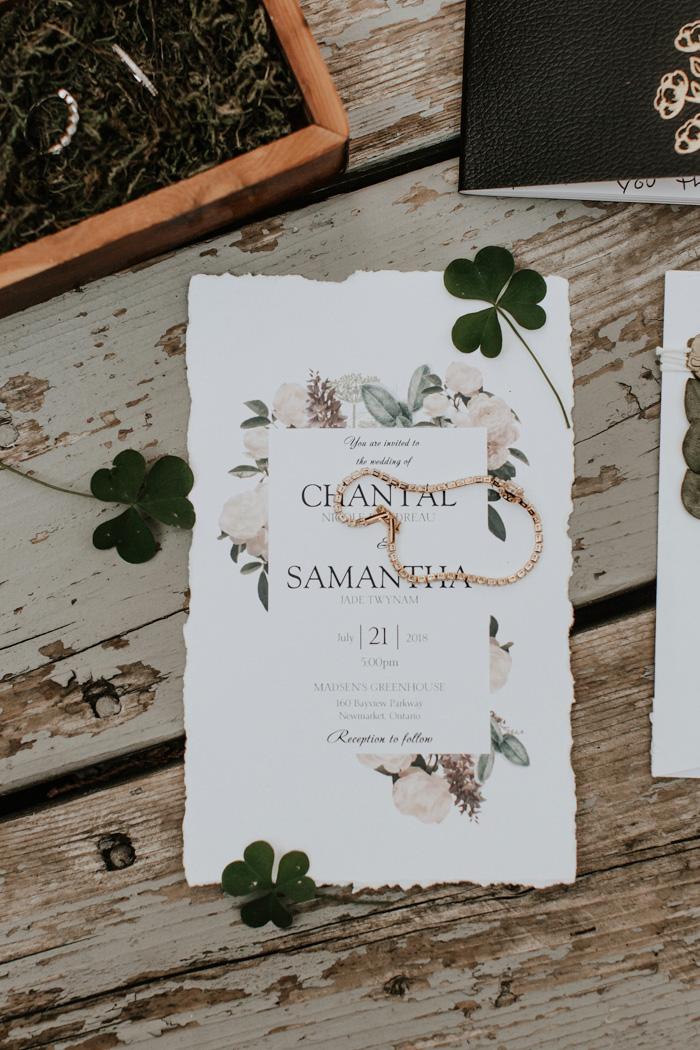 Minimalist Glam Garden Wedding At Madsen S Greenhouse Junebug Weddings