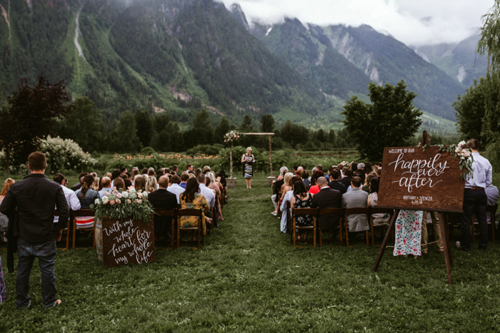 Three Jaw Dropping Indoor Banff Wedding Ceremonies: This Thoughtful North Arm Farm Wedding Has The Most Jaw