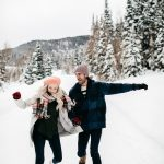 We're Totally Obsessed with These Winter Engagement Photo Outfit Ideas