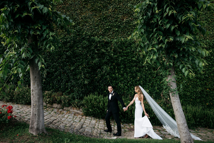 15e1549ee75e Erica and George's Italian destination wedding at Belmond Villa San Michele  was an elegant affair with a distinctly personal vibe.