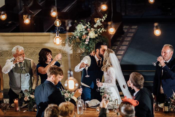 Elegantly Eclectic Uk Wedding At The Spire Brighton