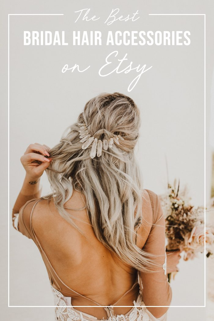 The Best Bridal Hair Accessories On Etsy Junebug Weddings