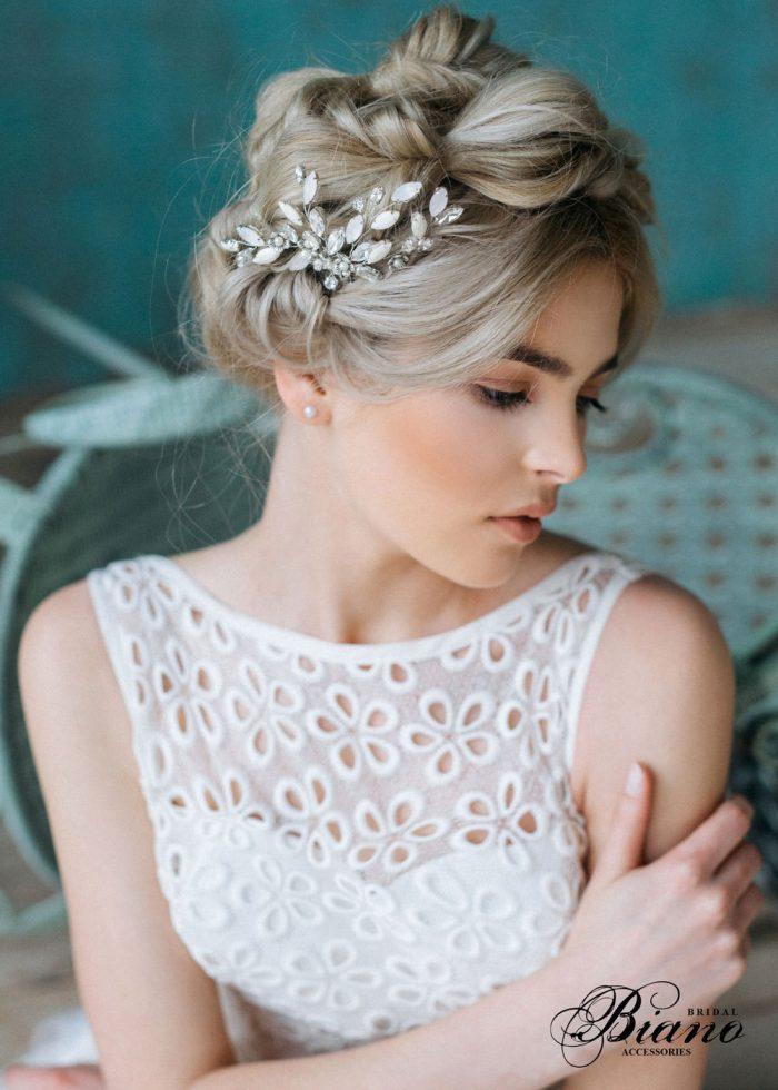 The Best Bridal Hair Accessories on Etsy   Junebug Weddings
