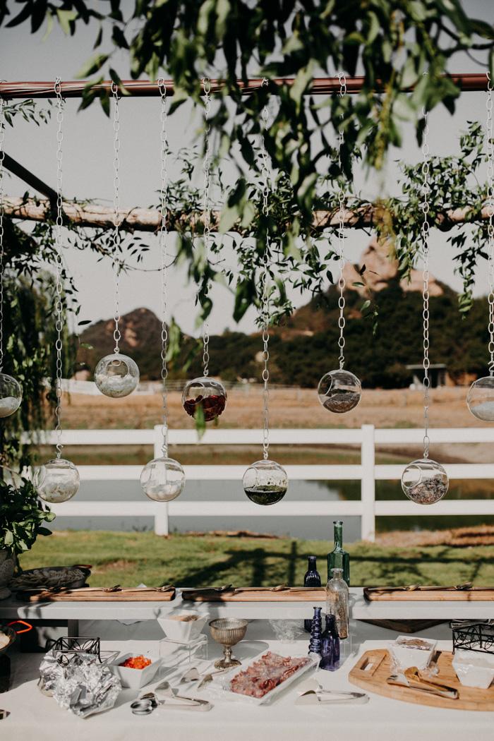 Saddlerock Ranch Wedding.Modern Romantic Saddlerock Ranch Wedding In Shades Of Dusty Blue