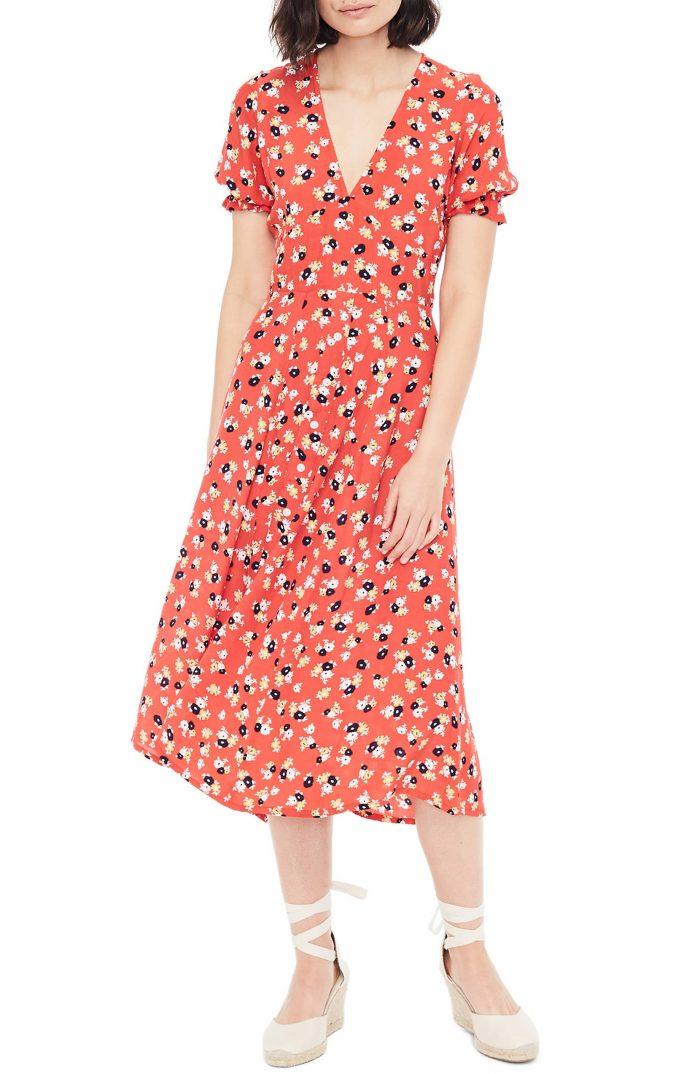 537fb4941ef Tadashi Shoji Floral   Lace Sheath Dress