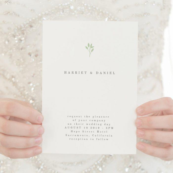 Elegant Magnolia Wedding Invitation Set  Minimal Rustic Invitations  Simple Editable Printable Template  Line Art DIY  #025